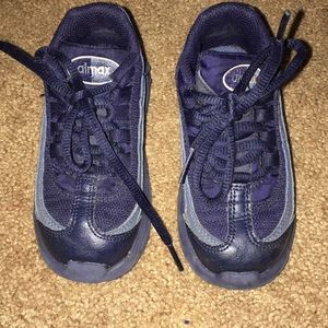 Navy blue Nikes